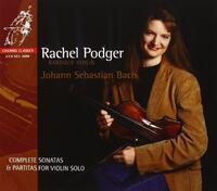 Bach Violin Sonatas & Partitas - Co-Rachel Podger-CD