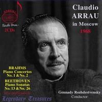 Claudio Arrau In Moscow | Legendary Treasures - Vo-Claudio Arrau-CD