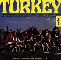 Turkey: Songs And Dances-Radio Ankara Ensemble-CD