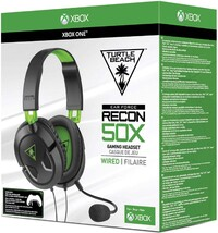 Turtle Beach Gaming Headset Zwart - Earforce Recon 50X (PS4 + Xbox One + PC + Mobile)-Accessoires