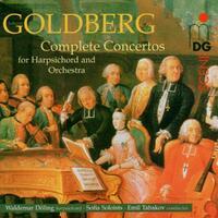 Complete Concertos For Harpsichord-Sofia Soloists, Waldemar Doling-CD