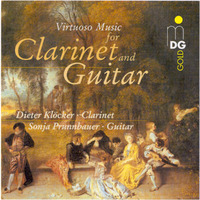 Virtuoso Music For Clarinet & Guita-Dieter Klocker, Sonja Prunnbauer-CD