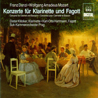 Concertos For Clarinet And Bassoon-Dieter Klocker, Suk Chamber Orchest-CD