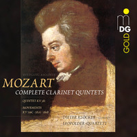 Complete Clarinet Quintets-Dieter Klocker, Leopolder Quartett-CD