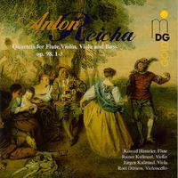 Quartets Op98 1 T/M 3-Dieltiens, Rainer Kussmaul & Jurgen-CD