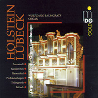 Organ Landscape Holstein-Lubeck-Wolfgang Baumgratz-CD