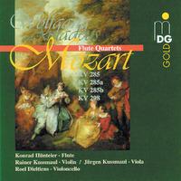 Flute Quartets: KV285/285A/285B/298-Dieltiens, Rainer Kussmaul & Jurgen-CD