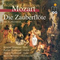 The Magic Flute: Arr. V. Fluitkwart-Dieltiens, Rainer Kussmaul & Jurgen-CD