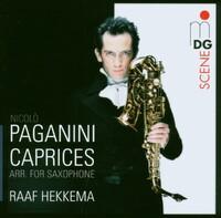 24 Caprices Op1: Arr. For Saxophone-Raaf Hekkema-CD