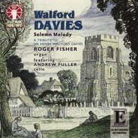 Solemn Melody / Jesu Duicis Memoria-Andrew Fuller, Roger Fischer-CD