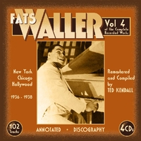 Vol. 4. The Complete Recorded Works-Fats Waller-CD
