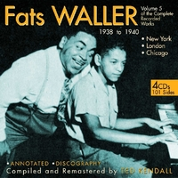 Vol. 5. The Complete Recorded Works-Fats Waller-CD