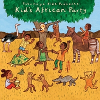 Kids African Party-Putumayo Kids Presents-CD