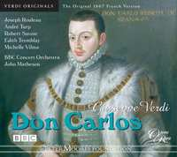 Don Carlos (Five-Act French Versio)-BBC Concert Orchestra-CD