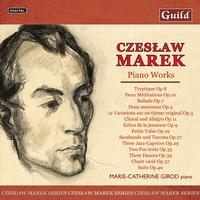Czeslaw Marek - Piano Works-Marie-Catherine Girod-CD