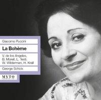 Puccini: La Boheme (Met 1961)-Los Angeles, Morell, Wildermann, KR-CD