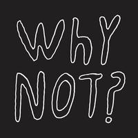 Why Not? (White)-Half Japanese-LP
