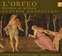 L 'orfeo-Taverner Consort & Players-CD