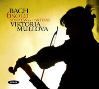 Sonatas & Partitas For Violin Solo-Viktoria Mullova-CD