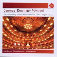 Pavarotti/Domingo/Carrera-Carrera, Domingo, Pavarotti-CD