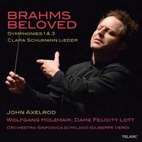 Beloved:Symphonies No.1 &-J. Brahms-CD