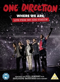 One Direction - Where We Are: Live From San Si-DVD