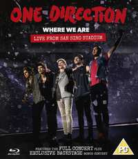 One Direction - Where We Are: Live From San Si-Blu-Ray