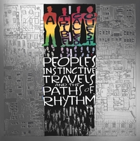 A Tribe Called Quest - People's Instinctive Travels A-boek cover voorzijde