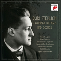 Chamber Works And Songs-R. Stephan-CD