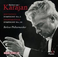 Symphony No 5 Symphony No 10-Berliner Philharmoniker-CD