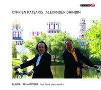 Russian Piano Music For Four Hands-Alexander Ghindin, Cyprien Katsaris-CD