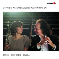Works For Clarinet & Piano-Cyprien Katsaris, Katrin Hagen-CD