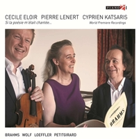 Works For Alto, Viola & Piano-Cecile Eloir-CD