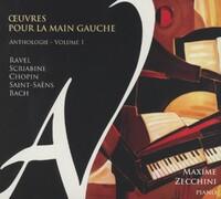 Oeuvres Pour La Main Gauche Vol.1-Maxime Zecchini-CD