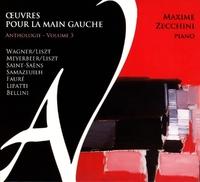 Oeuvres Pour La Main Gauche V.3-Maxime Zecchini-CD