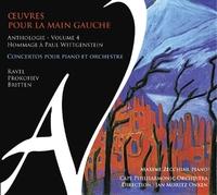 Oeuvres Pour La Main Gauche Vol.4-Maxime Zecchini-CD