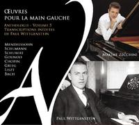 Oeuvres Pour La Main Gauche Vol.5-Maxime Zecchini-CD