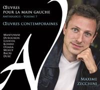 'uvres Contemporaines - Anthologie-Maxime Zecchini-CD