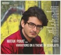 Variations On A Theme By Scarlatti-Matan Porat-CD