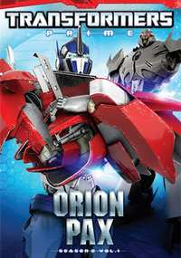 Transformers Prime - Seizoen 2 (Deel 1) Orion Pax-DVD
