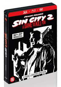 Sin City 2 - A Dame To Kill For (3D En 2D Blu-Ray + DVD) (Steelbook)-3D Blu-Ray