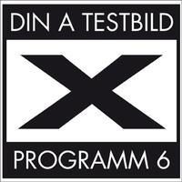 Programm 6-Din A Testbild-CD