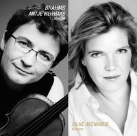 Johannes Brahms: Sonatas For Violin And Piano Nos-Antje Weithaas, Silke Avenhaus-CD