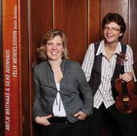 Felix Mendelssohn, Violin Sonatas Nos 1-3 And Frag-Antje Weithaas, Silke Avenhaus-CD