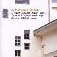 Johann Sebastian Bach: Brandenburg Cto No 6; Viola-A Tamsetit, C Tetzlaff, L Vogt, R Robert-CD