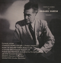 Complete Works -Box Set--Edgard Varese-CD