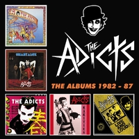 Albums 1982-87 -Box Set--Adicts-CD