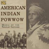 American Indian Pow Wow - Music Of The Najavo Indi--CD