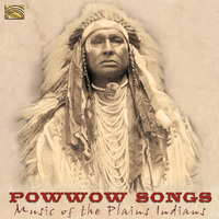 Powwow Songs - Music Of The Plains Indians--CD