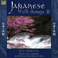 Japanese Folk Songs-Joji W. The London Metropolitan Orchestra Hirota-CD